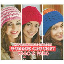 modelos modernos para gorras tejidas con todo crochet