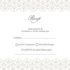 exles of wedding invitations exles of wedding invitations response cards wedding