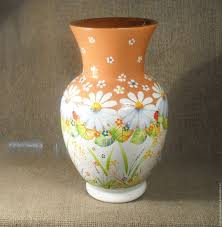 Design For Vase Painting Buy Vase Painted Pottery On Livemaster Online Shop
