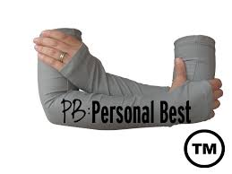 pb personal best arm warmers for running