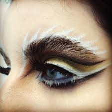 Eyeliner Halloween Makeup by Lion Eyes Makeup Creative Eye Make Up Animal Photo Inspiration