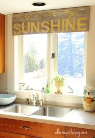 home decor window treatments not your usual kitchen window treatment
