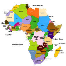 africa map 54 countries getting to africa 50 interesting facts