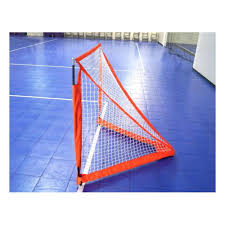 net 4ft portable box lacrosse goal with bag
