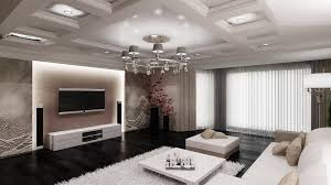 Living Room Ideas With Tv Black Floor And White Shaggy Rug For Luxury Modern Living Room