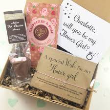 will you be my flower girl gift will you be my flower girl gift box by sweet gifts