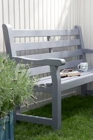 small garden bench seat home outdoor decoration