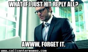 reply all call center memes