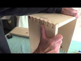 Cabinet Joint Constructing A Finger Jointed Pine Amplifier Cabinet Part 1
