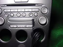 Aux Port Not Working In Car Aux Input On The Tape Md Blank Piece Mazda 6 Forums Mazda 6