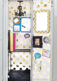 follow these tips for fun and functional locker organization