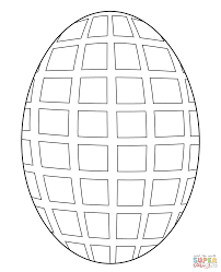 egg mosaic coloring free printable coloring pages
