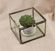 aliexpress com buy mimi geometric glass terrarium cube