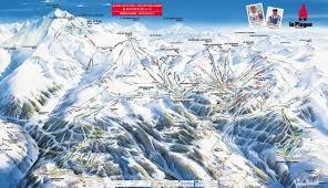Alps On A Map Maps U0026 Piste Maps Of La Plagne Laplagnet Com