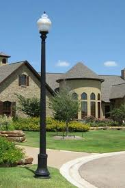 Residential Outdoor Light Poles Whatley Fiberglass Light Poles Decorative Fiberglass Light Poles