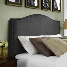 Bedroom Ideas With Upholstered Headboards Home Design Upholstered Headboards With Nailheads Tv Above