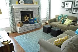blue living room rugs rugs curtains cozy living room decor with fireplace and comfy