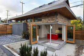 efficient contemporary laneway house by lanefab small house bliss