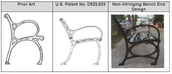 design patents how is vacillating court