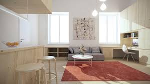 interior exquisite small apartment interior ideas gray color