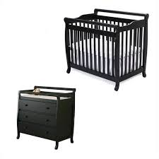 Davinci Mini Crib Emily Davinci Emily Mini 2 In 1 Convertible Crib With Changing Table In
