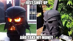 Shut Up And Take My Money Meme Generator - image tagged in star wars darth vader imgflip