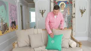 arrange pillows to create a more inviting home youtube
