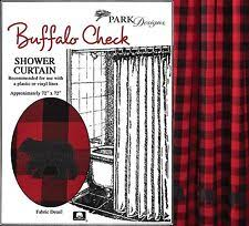 Check Shower Curtain Park Designs Checked Shower Curtains Ebay