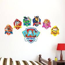 Paw Patrol Room Decor Decorating House Games Online Paw Patrol Logo Wall Decal Kids