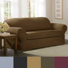 slipcover for camelback sofa maytex collin 2 piece sofa slipcover free shipping today