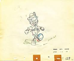 walt disney characters images walt disney sketches pinocchio hd
