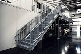 prefabricated metal stairs aluminum steps u0026 work platforms