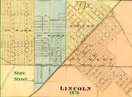 Map Of Central Illinois by Abraham Lincoln And Lincoln Illinois