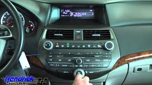 2009 honda accord bluetooth 2011 accord settings connect an ipod