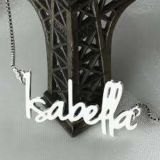 Tiny Name Necklace Online Get Cheap Name Necklace Tiny Aliexpress Com Alibaba Group