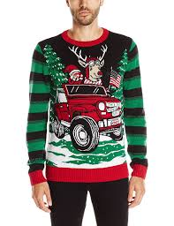 Ugly Christmas Sweater Men S This Is How We Roll Light Up At Amazon