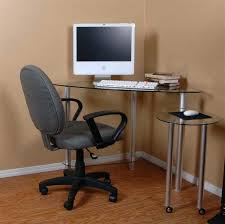 Small Desk Home Office Glass Corner Desk Glass Corner Desk Home Office Furniture Desk