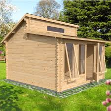 Garden Studio Crafts - 4m x 4m waltons haven log cabin room crafts log cabins and cabin