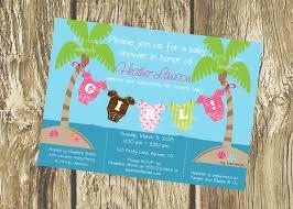 ocean themed baby shower invitations wblqual com
