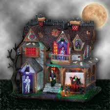 lemax spooky town theofantastique a meeting place for myth imagination and