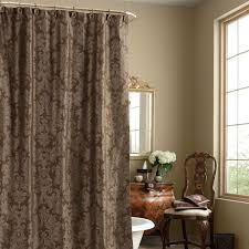 Gray Paisley Shower Curtain by Chocolate Brown Paisley Shower Curtain U2022 Shower Curtain Design