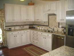 granite countertop kitchen colors with off white cabinets best