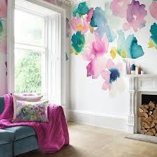 designer wallpaper samples floral wallpaper bluebellgray