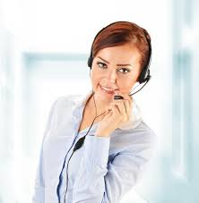 Customer Help Desk Call Center Operator Customer Support Helpdesk Royalty Free