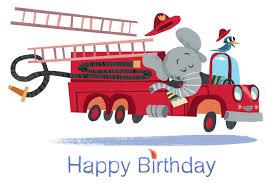firetruck card firetruck happy birthday elephant card firetruck