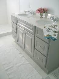Gray Bathroom Cabinets Best 25 Painting Bathroom Vanities Ideas On Pinterest Diy