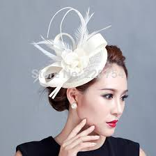 fascinators hair accessories cocktail fascinator flower feather sinamay fascinator women