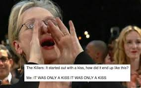 Memes Song - the meryl streep belting out song lyrics meme has reached critical