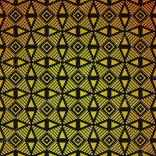deco wrapping paper gold geometric retro abstract seamless pattern vintage party