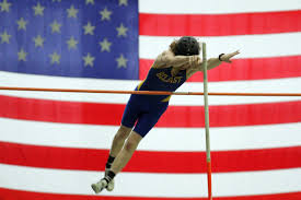 American Flag Backdrop Lions Mustang Realize Strong Success In Vacation Week Meets At
